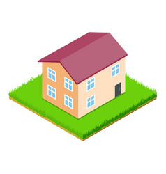 Residential properties icon isometric style vector