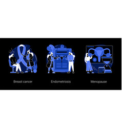 women health abstract concept vector image