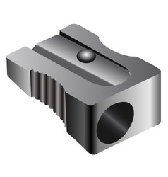 isolated sharpener vector image