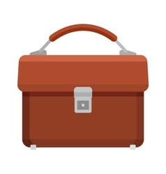 Briefcase for papers vector image vector image