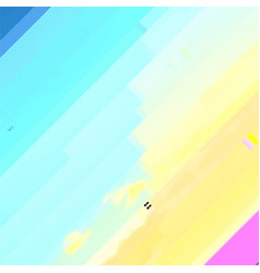 Abstract glitched background vector