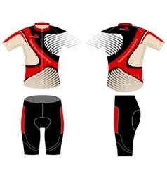 Bike graphic shirt vector