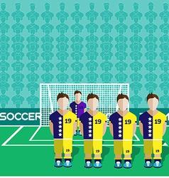Bosnia and Herzegovina Soccer Club Penalty vector