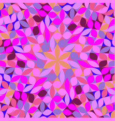Colorful dynamic abstract circular tile pattern vector