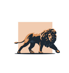 leo is coming vector image