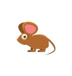 Mouse Simplified Cute vector image
