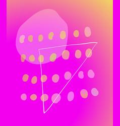 Neon magenta watercolor abstraction background vector