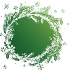 christmas vector banners design element vector image vector image