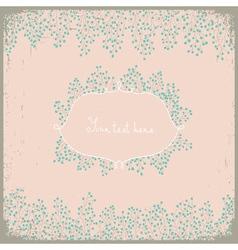 Elegant floral design Floral background for your vector image