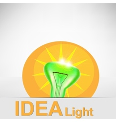 concept bulb drawing vector image