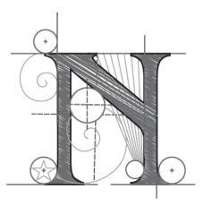 n vector image vector image