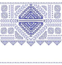 Tribal vintage ethnic background vector image vector image