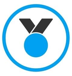 Army medal icon vector