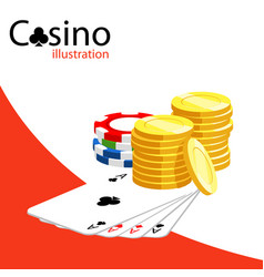 casino vector image