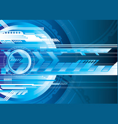 digital tech vector image