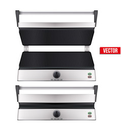 original electric grill vector image