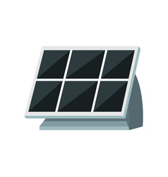 solar panel design vector image