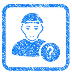 User query framed stamp vector