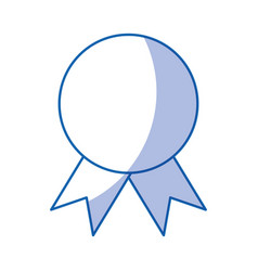 certificate seal isolated icon vector image
