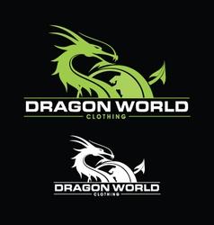 Dragon World vector image