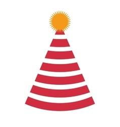 party birthday hat icon vector image