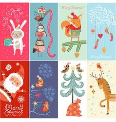 Set of Christmas banners vector image vector image