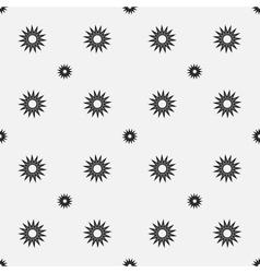Stars geometric seamless pattern 3407 vector image vector image