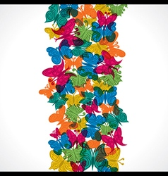 colorful butterfly background stock vector image vector image