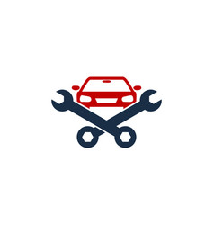 car fix and repair logo icon design vector image