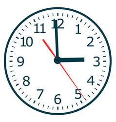 clock icon world time concept vector image