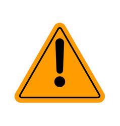 Danger warning attention sign vector