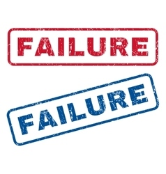 Failure Rubber Stamps vector
