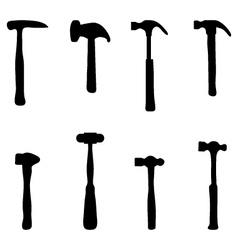hammers vector image