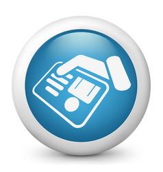 Identity card document vector
