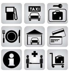 Leasure icons vector