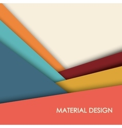 Material icon design vector