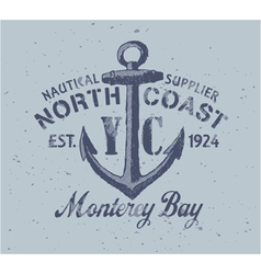 Nautical graphic vector image