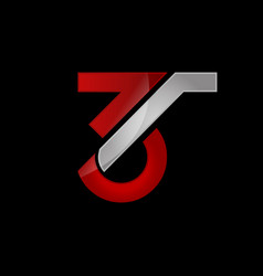 Number 3 three logo design graphic vector