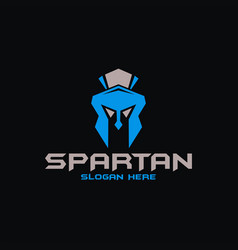 spartan logo design inspiration vector image