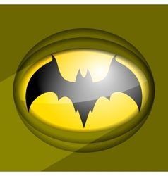 Bat sign vector image