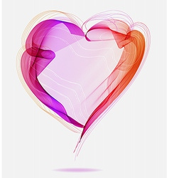 Beautiful Valentines background with abstract vector image