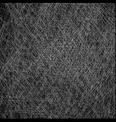 Black and white scratches texture with random vector