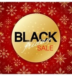 Black Friday Sale background Promotional banner vector image