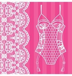 Body Lingerie vector image
