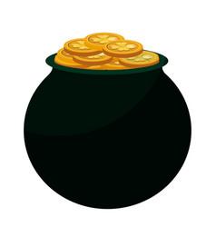 Cauldron of the treasure vector