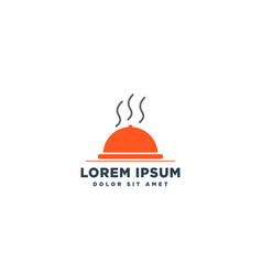 Food chef logo design icon element vector