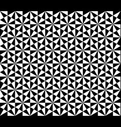 ornament with elements black and white colors vector image