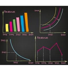 Profit Charts vector