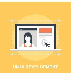 UI UX Development vector