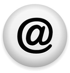 Email At Symbol vector image